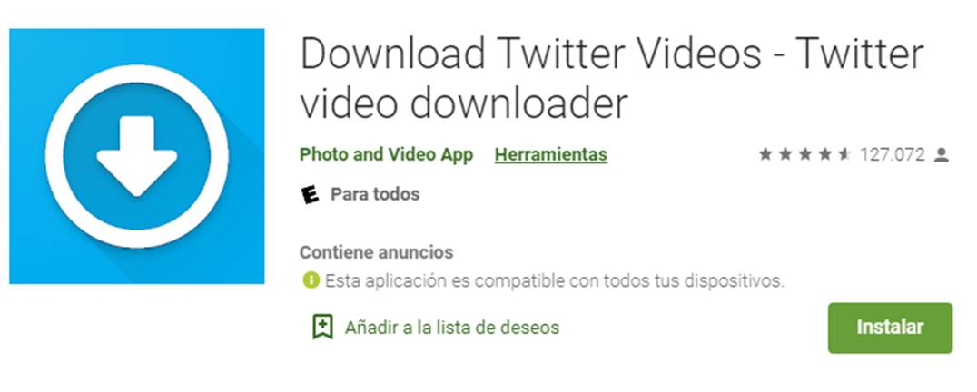 descargar download twitter videos
